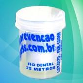 0259 - Fio Dental 25m - Flip Flop Redondo