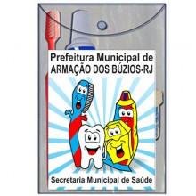 01 - Sacolinha personlizada em PVC Prefeitura + Saúde Bucal